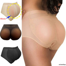 Best Butt Padded 100% Silicone Hip Enhancer BOOTY Buttocks Pads Panties Push Up - $27.08
