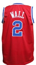 John Wall #2 Washington Basketball Jersey Sewn Red Any Size image 2