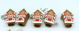 Bath & Body Works Light Up Gingerbread House Pocketbac Holder Set of 5, New - $24.99