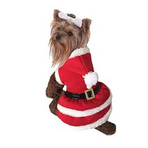 NACOCO Pet Christmas Suits Dog Cat Santa Suit Skirts Dog Costumes (X-Small) - $11.87