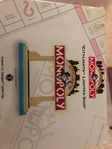 """Department 56 Monopoly """"Citylights Lighted Sign"""" - $27.99"""