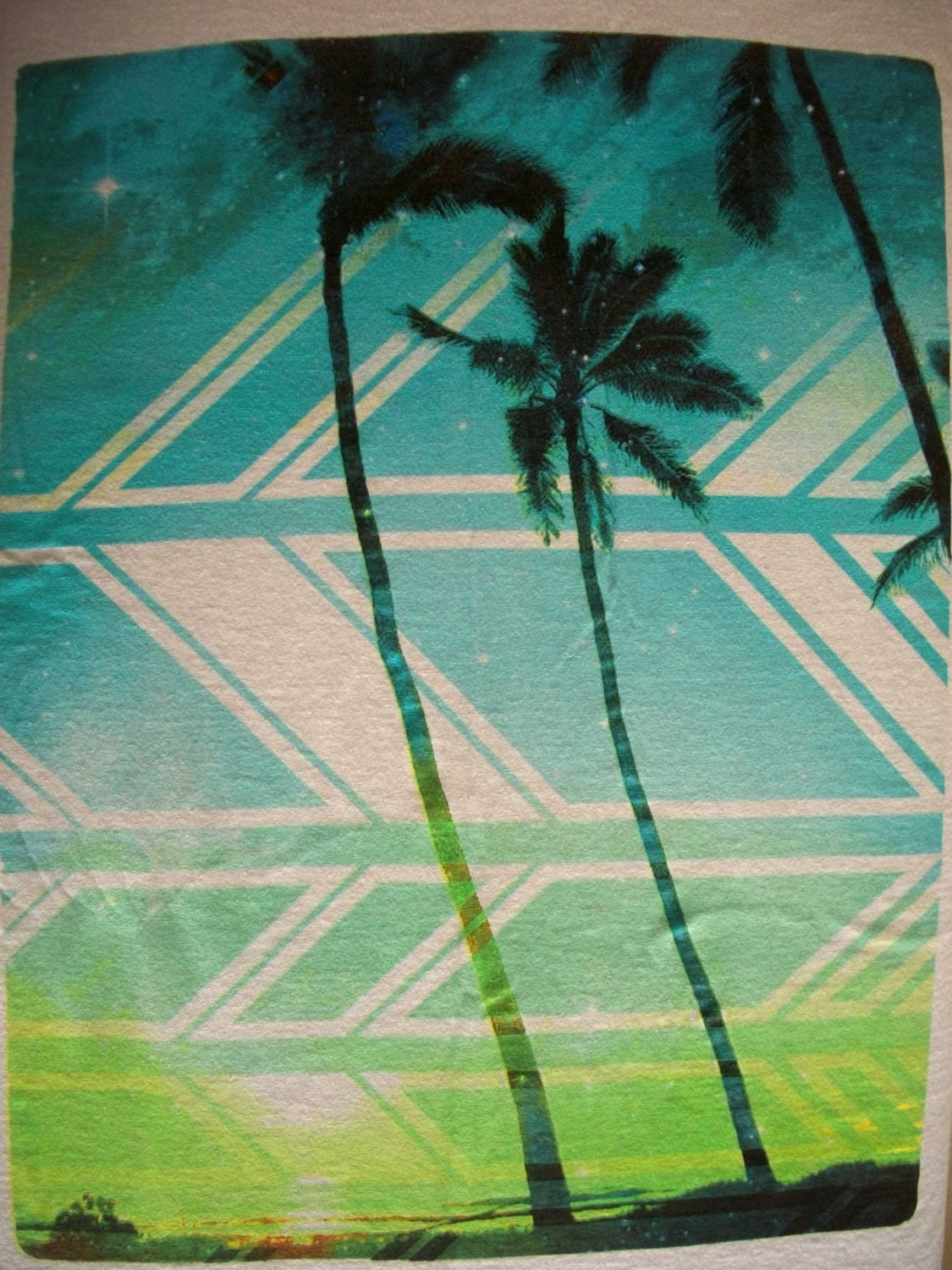Hang Ten colorful Palm Trees on a thin and 50 similar items