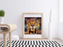 Cheetah Portrait - Printable Art, Wall home decor, Download Print, Paint... - $4.20