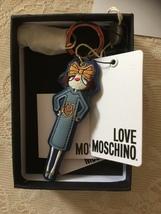 NWT/LOVE MOSCHINO/BLUE LADY/BAG CHARM/KEY FOB - $115.00