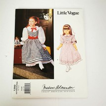 Little Vogue 1292 Madame Alexander Girl Size 5 6 6X Dress Pinafore Uncut... - $14.99