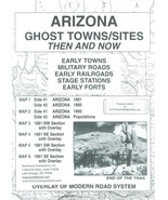 Arizona Ghost Towns/Sites - Now and Then ~ Ghost Towns - $12.95
