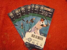 2011, 2013, and 2014 Seattle Mariners Full Unused Ticket Stubs Lot $2.99 Each! - $2.96