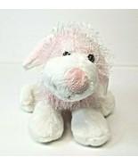 "Ganz Webkinz Pink and White Dog Plush Stuffed Animal 8"" - $15.47"