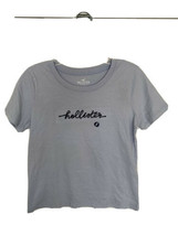 NEW! NWT HOLLISTER Baby blue T-shirt Size small Super soft - $11.87