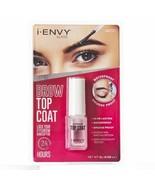 i Envy Kiss Brow Top Coat 24HR Lock Eyebrow Makeup Waterproof 0.135oz #K... - $5.93