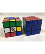 Rubik's Cubes Set Of 2 Educational Math School Kids Toys - $9.79
