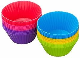 Kuuk Silicone Cupcake Molds 24 Pack - $15.61