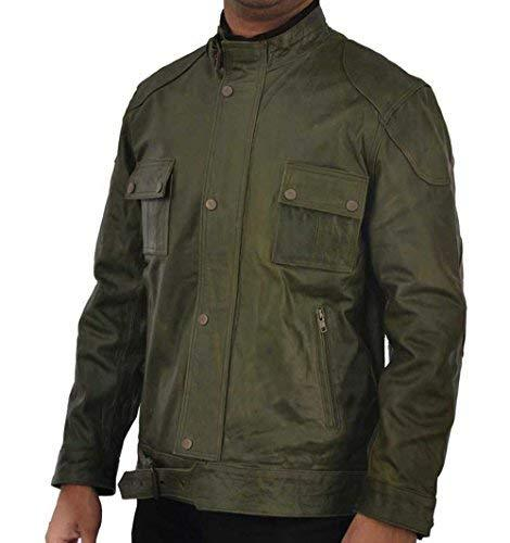 Wesley Gibson Wanted Mark Millar Green Leather Jacket