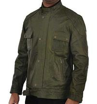 Wesley Gibson Wanted Mark Millar Green Leather Jacket image 1