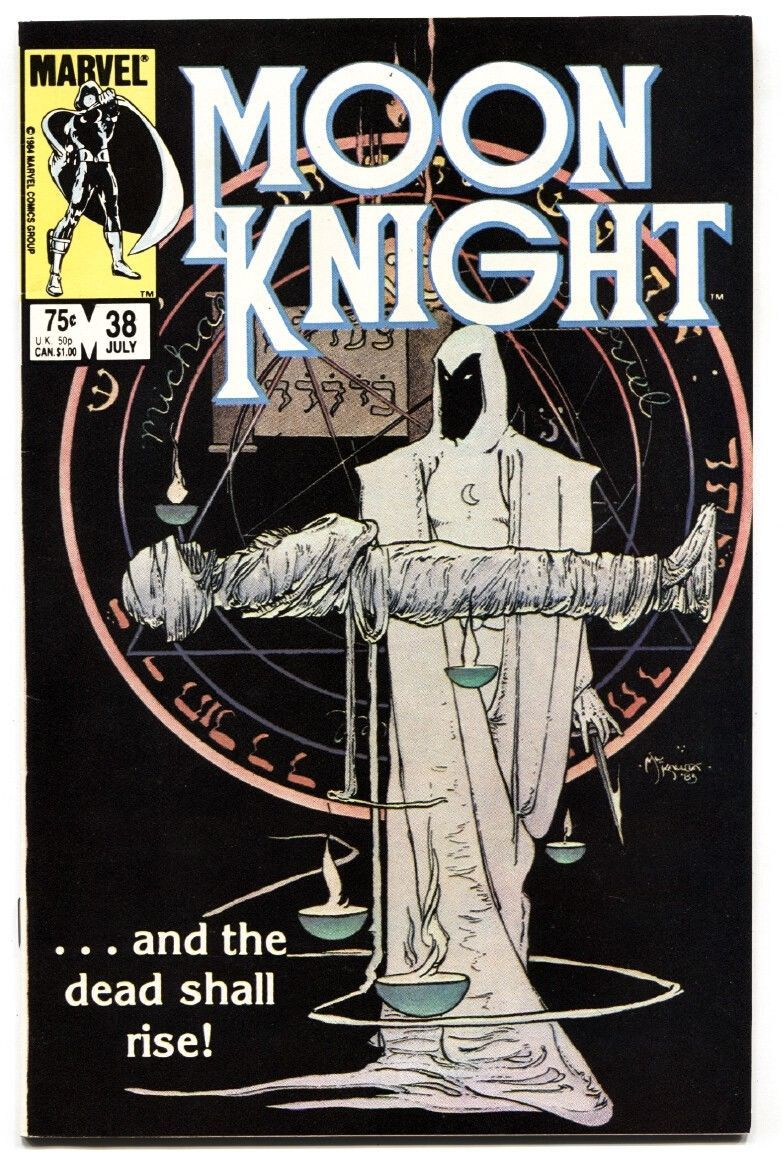 Moon Knight #38 comic book 1984- Last issue- Low print run NM-