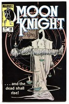 Moon Knight #38 comic book 1984- Last issue- Low print run NM- - $37.83