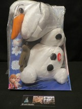 """Olaf Disney Frozen Pull Apart & Talking Stuffed Snowman 15"""" Plush Doll J... - $25.13"""