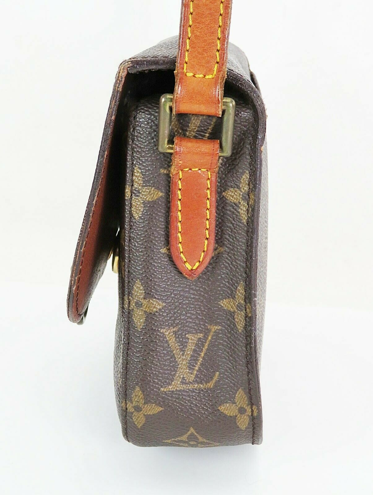 Authentic LOUIS VUITTON Saint Cloud PM Monogram Shoulder Bag #35015 image 4