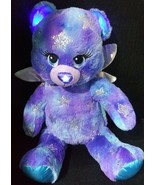 "18"" Build A Bear Blue Purple Wings Bear Plush light up and sing Happy Bi... - $39.99"