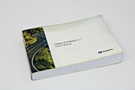 2011 Subaru Legacy & Outback Owner Manual Only - $22.78