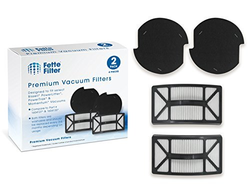 Fette Filter - Bissell Compatible with Powerlifter & PowerTrak Pet Filter Kit. C