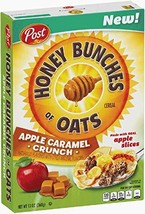 Post Honey Bunches of Oats APPLE CARAMEL CRUNCH 13 Oz. Pack of 2