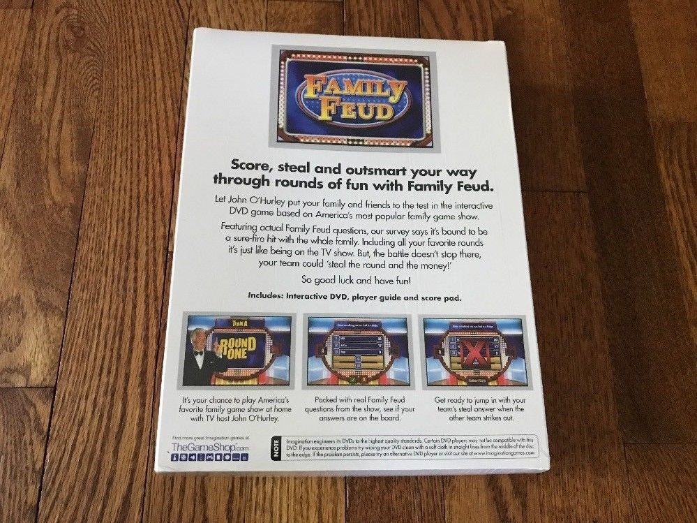 Family Feud DVD Game All New