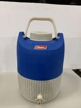 Vintage Coleman 2 Gallon Water Jug Drink Dispenser Blue - $35.31