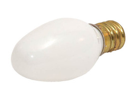 7C7W Philips 7C7/W White Bulb 7 Watt 120 Volt Candelabra Screw Base - $0.34