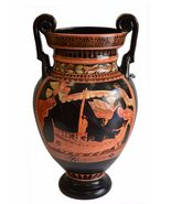 Odysseus passing the Sirens - Red Figure Volute Krater Vase - $399.00