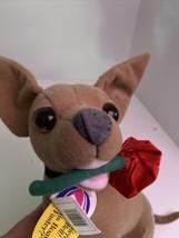 "Vintage 12"" TACO BELL Chihuahua Dog Plush Toy With Tag - Yo Quiero Taco ... - $14.85"