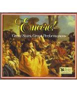 Reader's Digest: Encore! - Great Stars, Great performances [Audio CD] Va... - $27.60