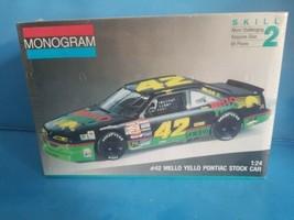 Monogram #42 Mello Yello Kyle Petty Pontiac Grand Prix model #2428 1:24 ... - $18.69