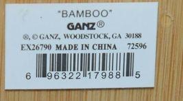 Ganz EX26790 Christmas Tree Shape Bamboo Cheese Board Spreader image 5