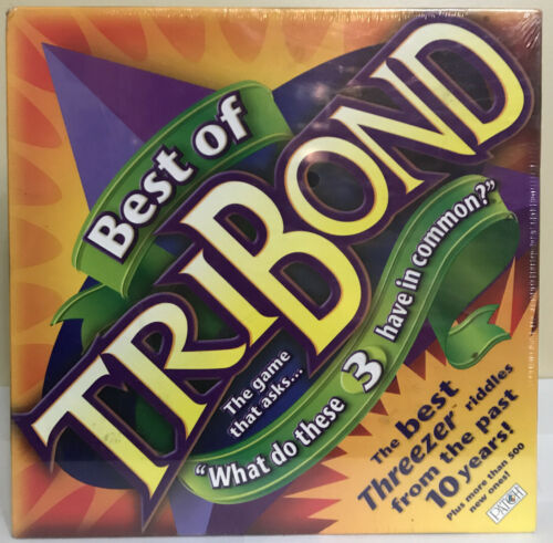 Primary image for New - Best Of TriBond Tri Bond Trivia Board Game Mattel