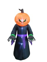 8 FOOT Halloween Inflatable Monster Pumpkin Head Garden Yard Decoration ... - $89.00
