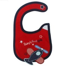 Airplane Toddle Infant Burp Cloths Baby Waterproof Bib Neat Solutions Set of 3