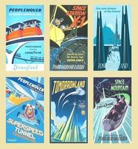 6 Disneyland Magnets (Set D) - $7.99