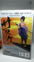 Naruto Shippuden DXF Craneking Figure Sasuke Uchiha Shinobi Relations  B... - $8.91