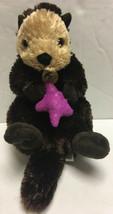 "Wild Republic Sea Otter with Purple Starfish Sea Star Stuffed Animal Plush 16"" - $16.99"
