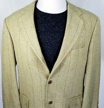Paul Fredrick Sport Coat 42R Canton Model 3 Roll 2 Button Silk & Wool Bl... - $44.50