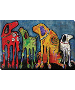 Best Friends by Jenny Foster Oversize Gallery-Wrapped Canvas Giclee Art - €162,90 EUR