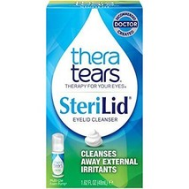 TheraTears Sterilid Eyelid Cleanser, Lid Scrub for Eyes and Eyelashes, 1... - $18.51