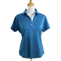 Nike Golf Women's Fit Dry Polo in Blue Size Large 12-14 - $19.79