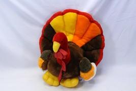 "Thanksgiving Decor Plush Turkey Kids Of America Corp 15"" H x 18"" L x 17"" W - $48.02"