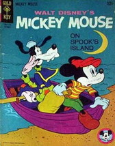 Mickey Mouse (Walt Disney's…) #103 VG; Dell | low grade comic - save on ... - $4.50