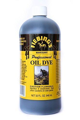 Fiebing's Mahogany Oil Leather Dye 32oz