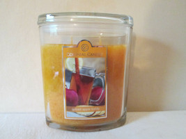 Colonial Candle ~~SPICED APPLE TODDY~~ 22 oz LGE Oval Jar, 2 wick FREE S... - $38.99