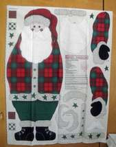 "Vintage 1998 Daisy Kingdom #3201 43"" Santa Doo Panel - $25.00"