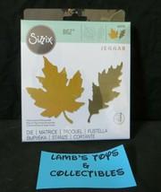 Sizzix Bigz Die By Jenna Rushforth Autumnal Leaves 664590 Ellison Scrapbooking - $28.49